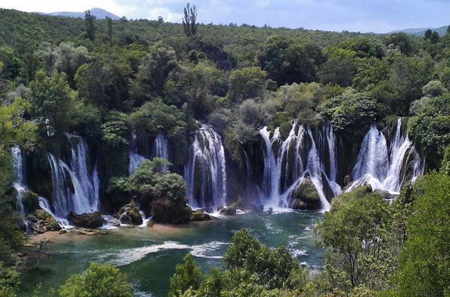 Catarata Kravice (Bosnia)