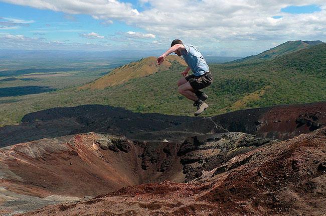 Volcán Cerro Negro en Nicaragua