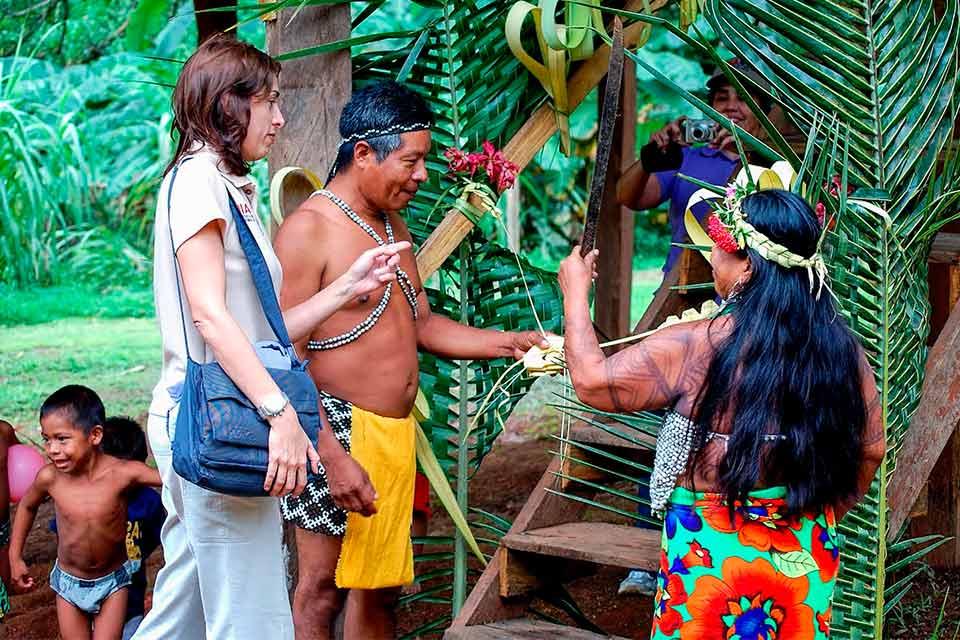 Comunidad Emberá - Panamá (Foto Pixinio)