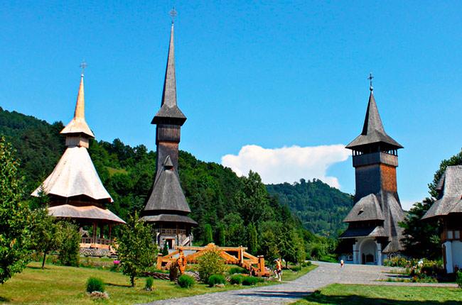 Iglesias de madera de Maramures (Rumanía)
