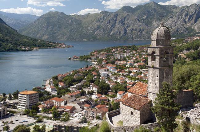 Bahia de Kotor, Montenegro