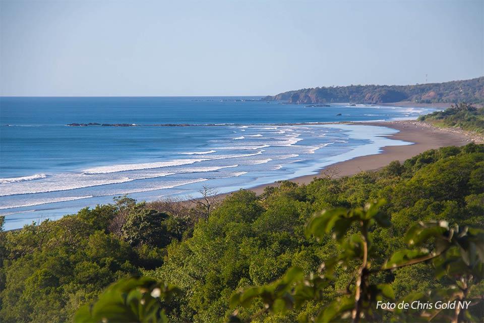 Nosara es una de las playas de Costa Rica en la Península de Nicoya. Foto de Chris Gold NY