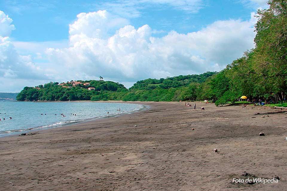 Playa Panamá es una de las playas de Costa Rica ubicada en Guanacaste. Foto de Wikipedia.