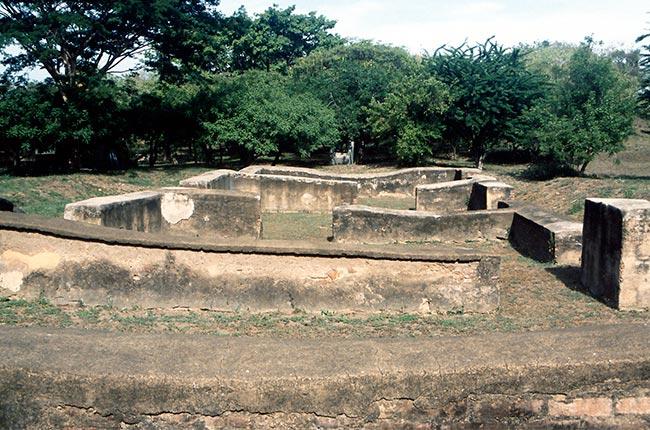 Ruinas de León Viejo, Nicaragua. Foto de Wikipedia.